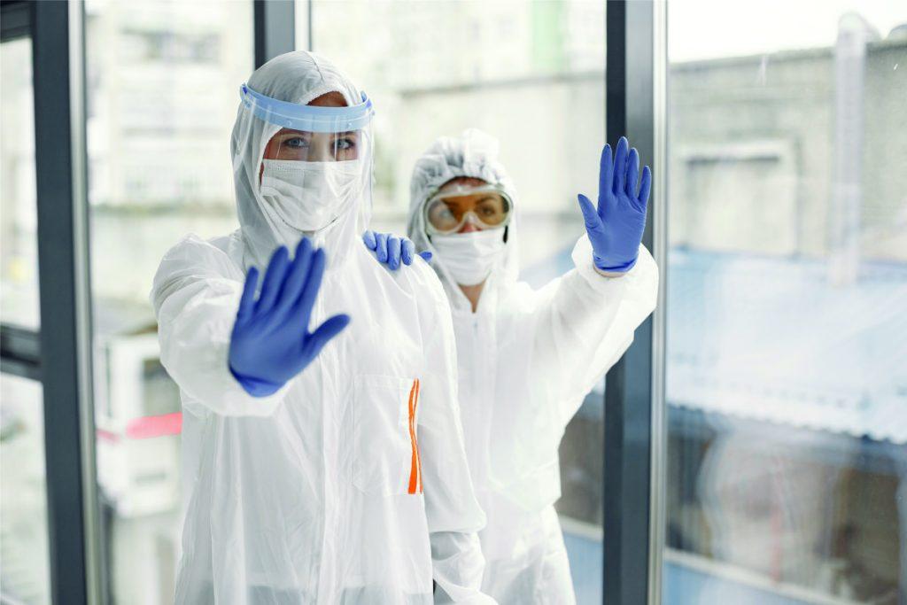 Wrong ways of handling polypropylene disposable coveralls