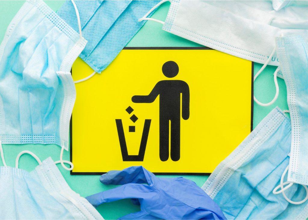 throw away disposable single-use apron